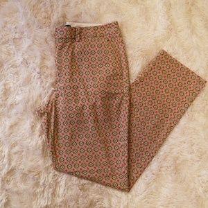Lands End Moroccan Print Pants